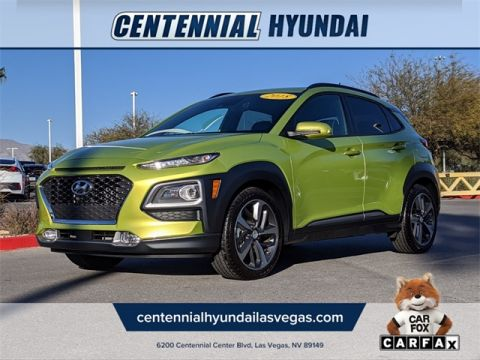 Certified Pre-Owned 2018 Hyundai Kona Ultimate FWD 4D Sport Utility